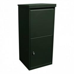 Pakket- en postkast 95cm x 41cm x 38cm donker groen RAL6009