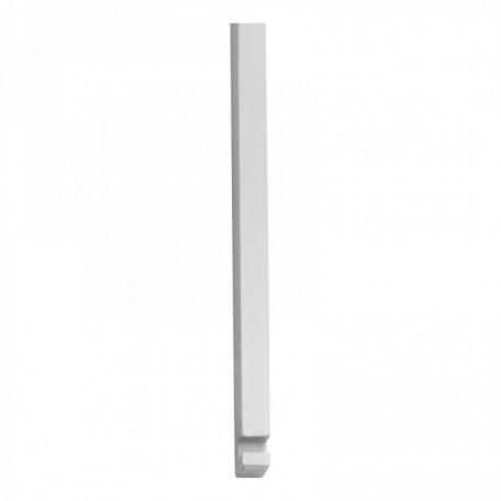 Stangenset tbv pomp-espagnolet 125cm chroom mat