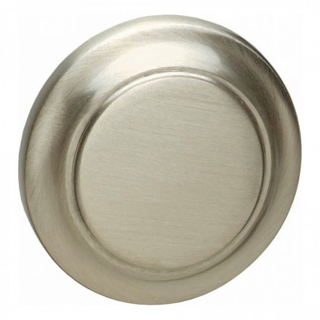 Knopkruk 50mm nikkel mat