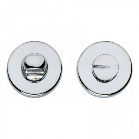WC-sluiting 5mm rond verdekt kunststof chroom