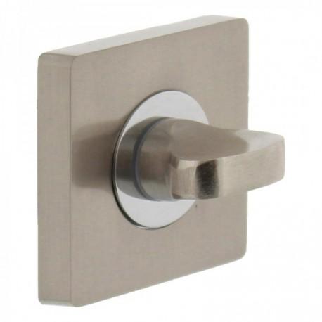 WC-sluiting 8mm vierkant 53x8 met 7mm nokken chroom/nikkel mat