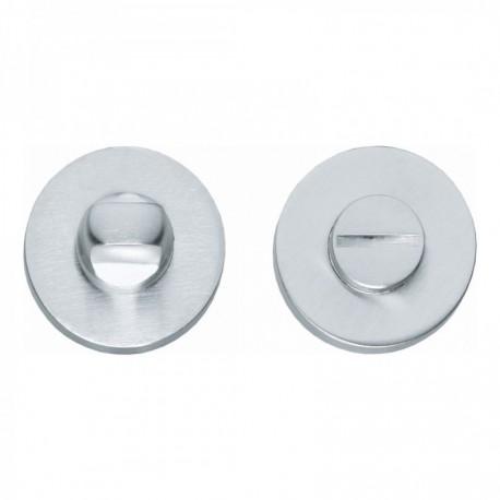 WC-sluiting 8mm rond verdekt chroom mat