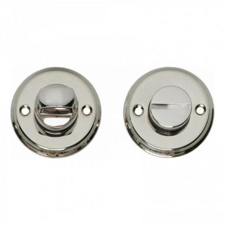 WC-sluiting 8mm schroefgat nikkel