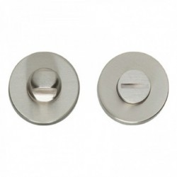 WC-sluiting 8mm rond verdekt massief nikkel mat