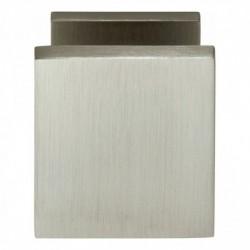 Voordeurknop vierkant 65/55mm nikkel mat