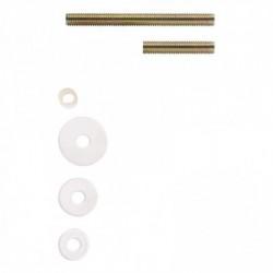 Bevestigingsset B doorgaand paarsgewijze montage voor hout / glas / pvc / alu. deurdikte10-65mm