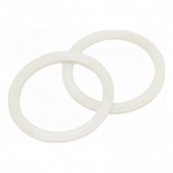 Nylon ring 18mm plat wit