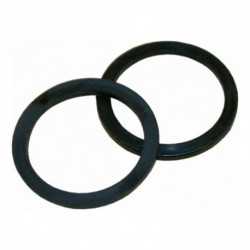 Nylon ring 18mm plat zwart
