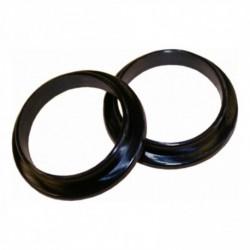 Nylon ring 18-16mm klein zwart