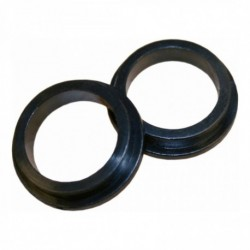 Nylon ring 20-16mm verdikt zwart